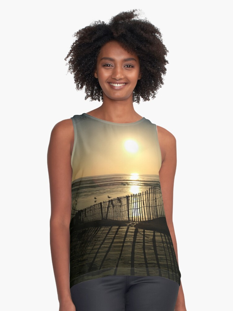 Dawn of Freedom Contrast Tank Front