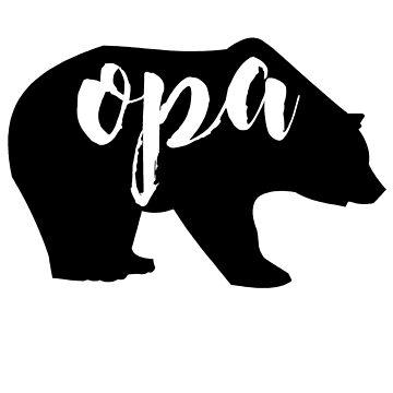 opa bear by schembri211