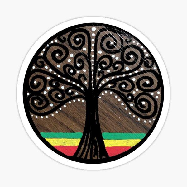 Mijumi Rasta Tree Sticker