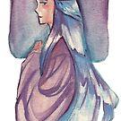 Lady Katrina Gouache Illustration by MissMarck
