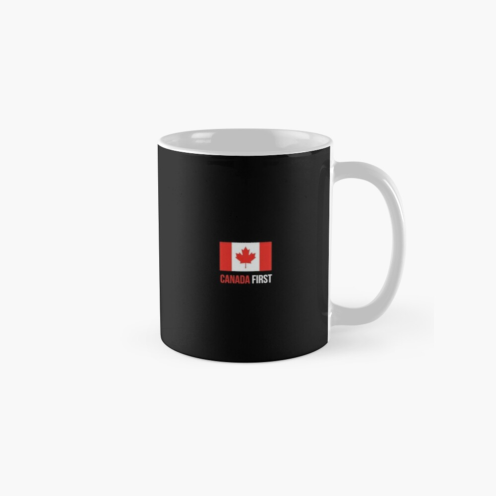 Make Canada Great Again #MCGA Canada First Canadian Flag Maple Leaf Patriots #CanadaFirst #TrudeauOut Mugs