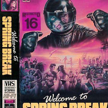 Welcome To Spring Break (Nightmare Beach) VHS by svene