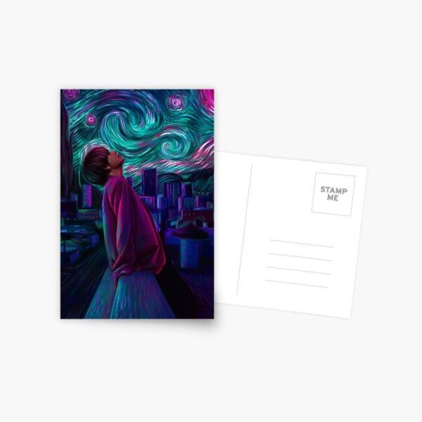 """Starry Night"" Postcard"