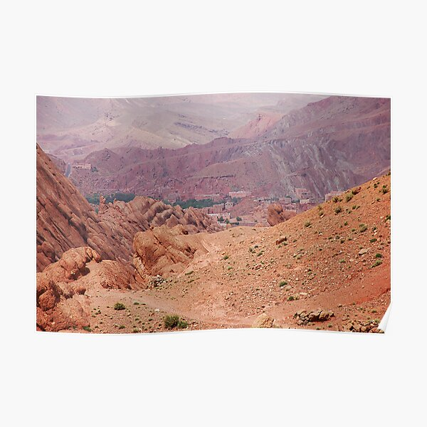 Dades Gorge Poster