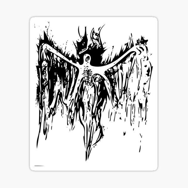 Anjel Ghost Sticker