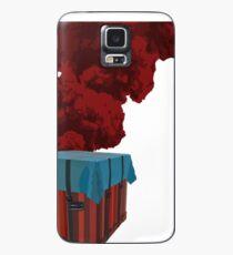 Funda/vinilo para Samsung Galaxy PUBG - Llama de caja
