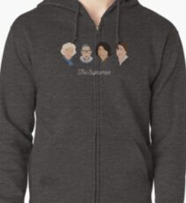 The Supremes Zipped Hoodie