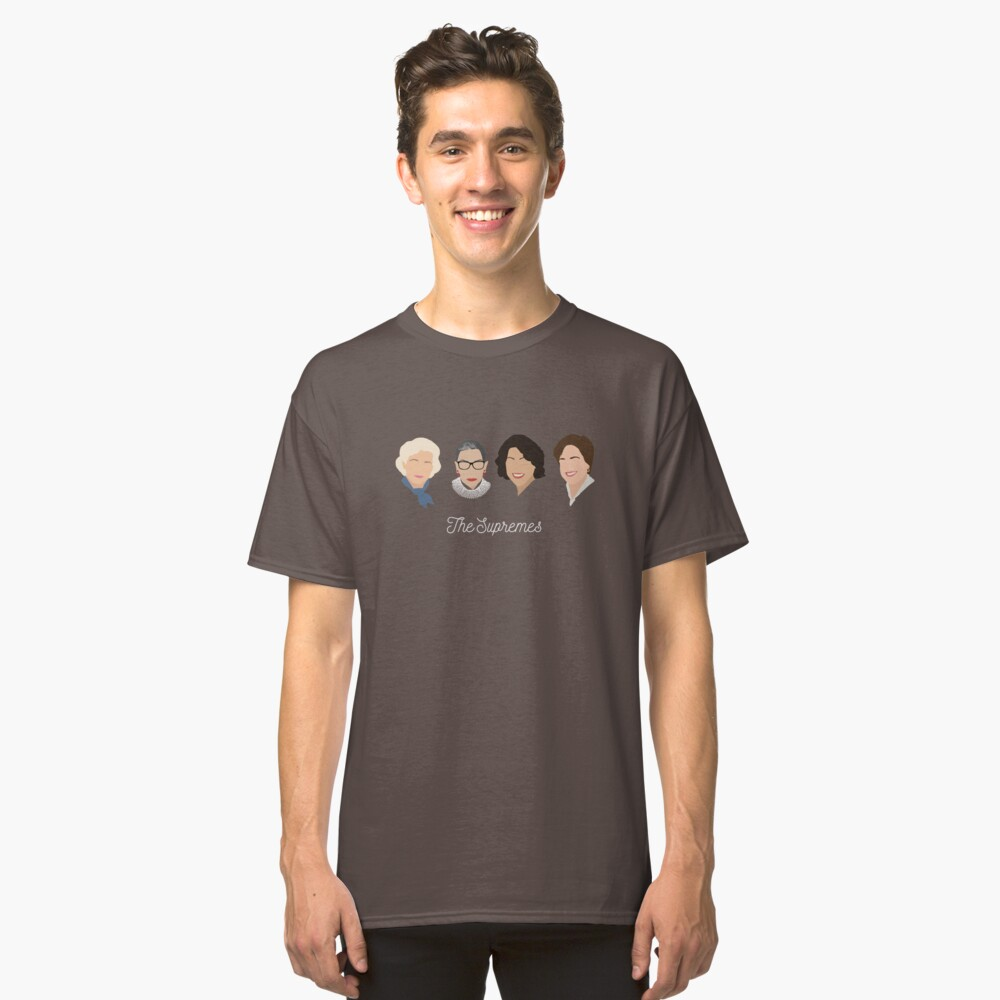 The Supremes Classic T-Shirt Front