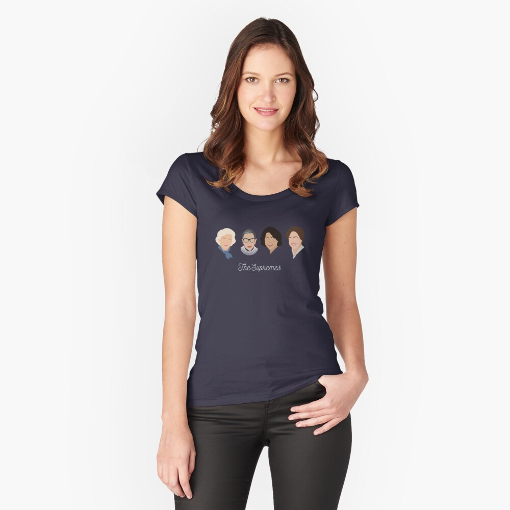 The Supremes Fitted Scoop T-Shirt