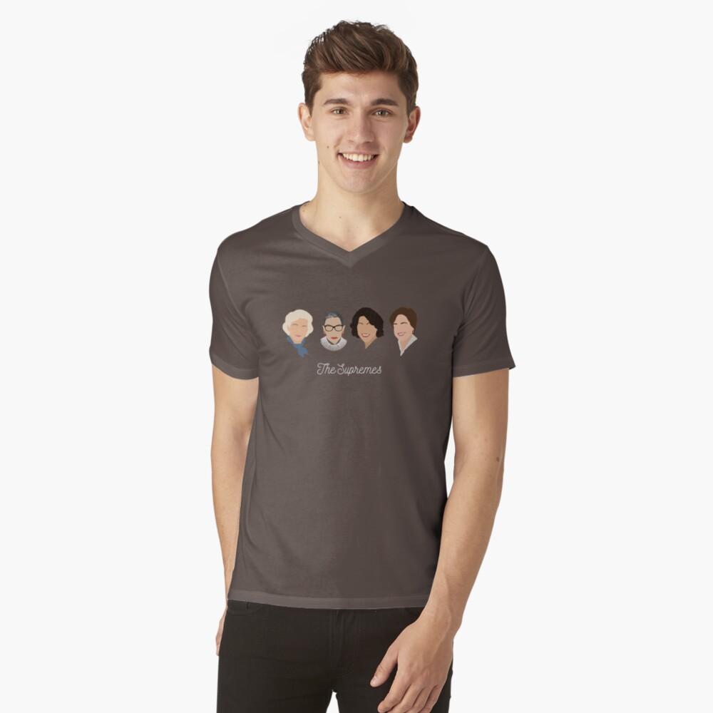 The Supremes Mens V-Neck T-Shirt Front