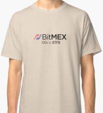 100x or GTFO BitMex Edition Classic T-Shirt