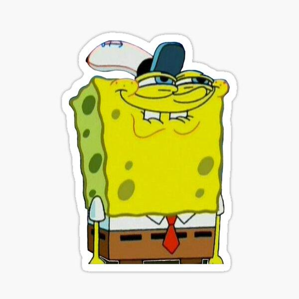 Funny Spongebob Sticker