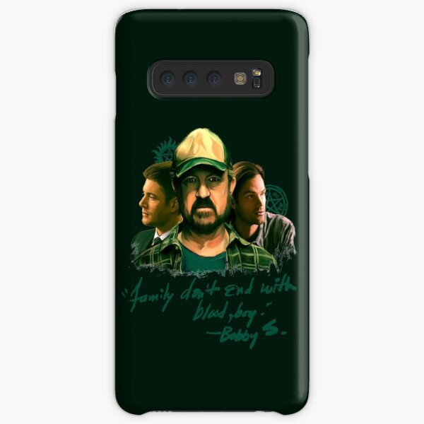 Family Don't End With Blood, Boy. Samsung Galaxy Snap Case