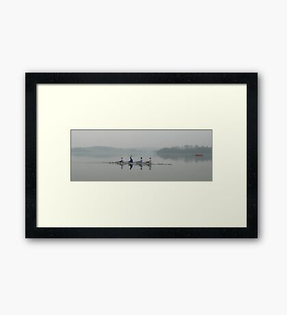 Misty Four Framed Print