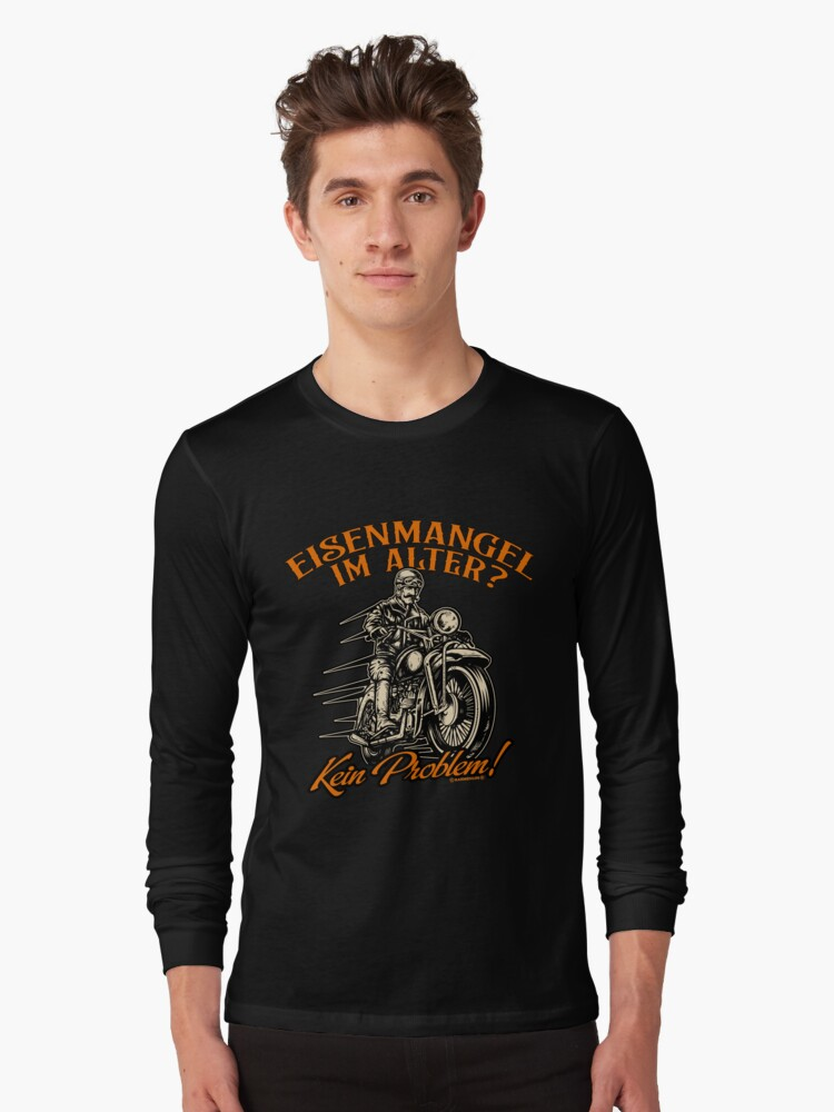Biker T-Shirt Deficiency in Alter ? Motorcycle Shirt Birthday Gift