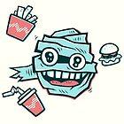 Fast Food Mummy by strangethingsA