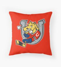 Barrie Colts Throw Pillow