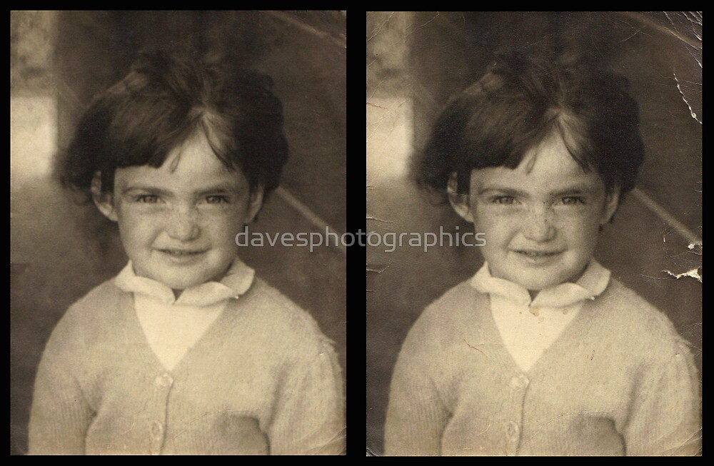 Restoration Work Before and After by davesphotographics