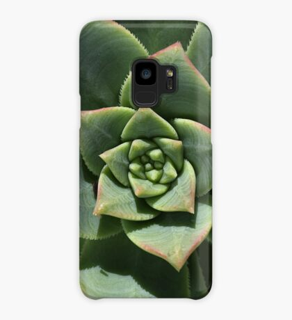Greens Of Hens And Chicks Case/Skin for Samsung Galaxy
