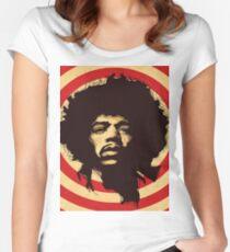Jimmy Hendrix Women's Fitted Scoop T-Shirt