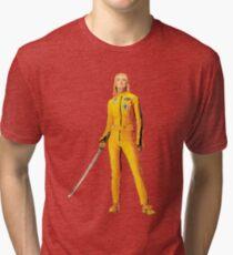 Uma Thurman (Kill Bill) Tri-blend T-Shirt