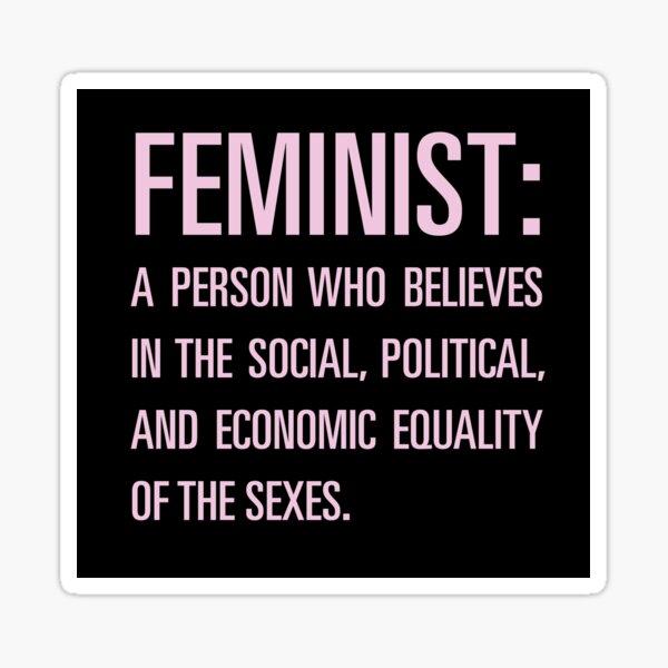 Feminista de Beyonce Pegatina