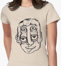 eye head Womens Fitted T-Shirt