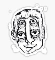 eye head Sticker