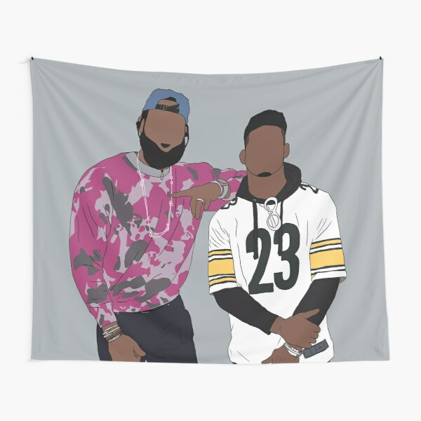 LeBron And JuJu Tapestry