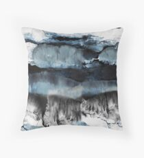 Abstract Marble Floor Pillow