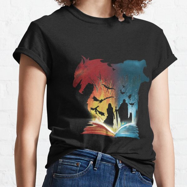 Book of Fire and Ice Classic T-Shirt