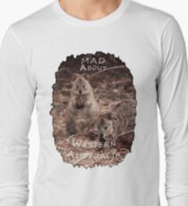 Quokkas - MAD About Western Australia Long Sleeve T-Shirt
