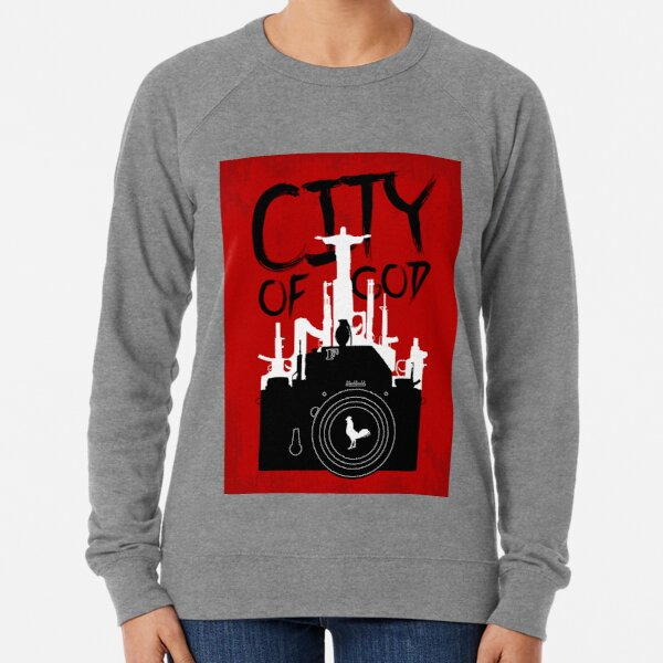 City of God - Minimal Movie Fanart Alternative Lightweight Sweatshirt