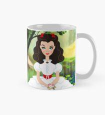 White Scarlett dress Mug