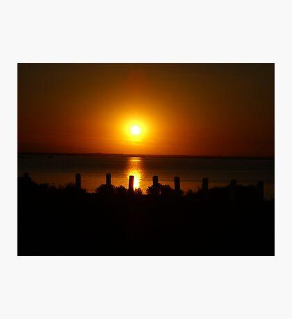 Sunset Shadows Photographic Print