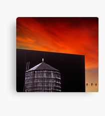 New York Sunset 11 Canvas Print