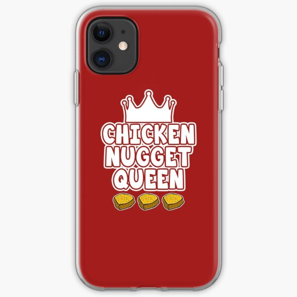 Chicken Nugget Queen iPhone Soft Case