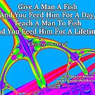 Give A Man A Fish by empowerwithart