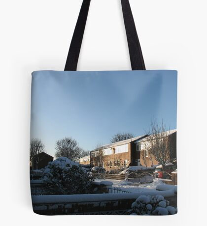 Sunshine and Snow Tote Bag