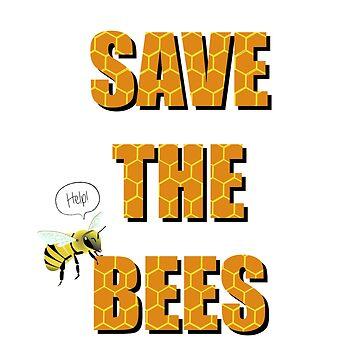 Save the Bees by imalovebug