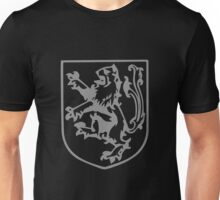 A Complete Guide to Heraldry - Figure 288 — Lion rampant queue-fourché Unisex T-Shirt
