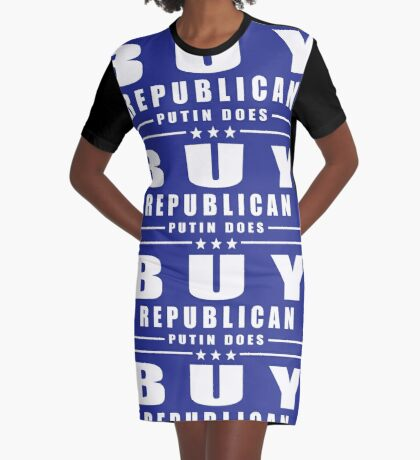 Buy Republican Putin Does Graphic T-Shirt Dress