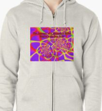 The Journey of a Thousand Miles Zipped Hoodie
