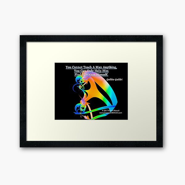 Find It Within Framed Art Print