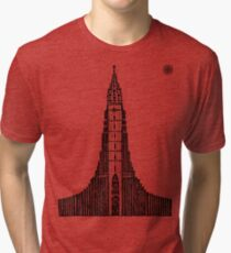 Hallgrimskirkja (Icelandic Cathedral) Tri-blend T-Shirt