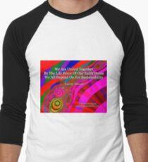 We Are United Baseball ¾ Sleeve T-Shirt
