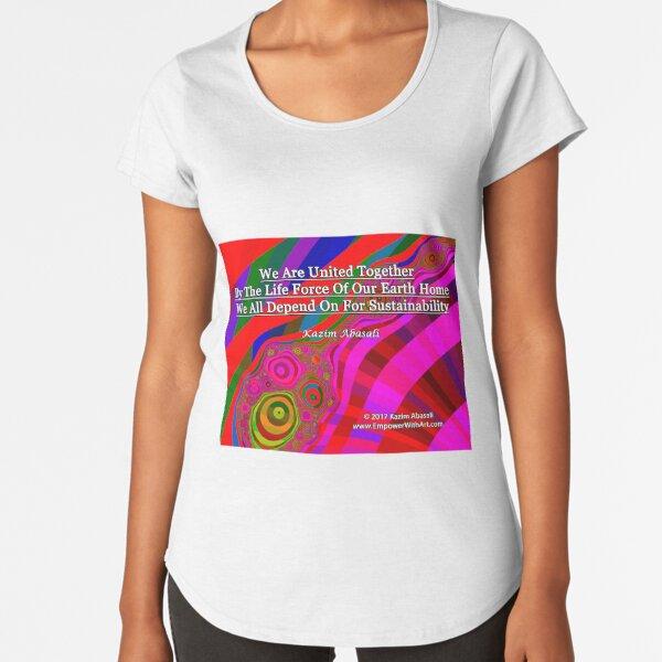 We Are United Premium Scoop T-Shirt