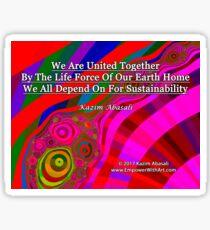 We Are United Sticker