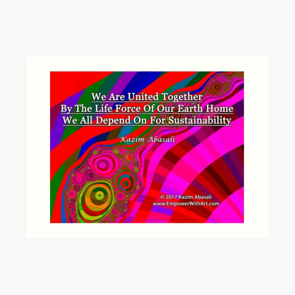 We Are United Art Print