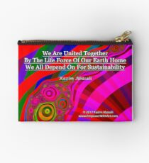 We Are United Zipper Pouch